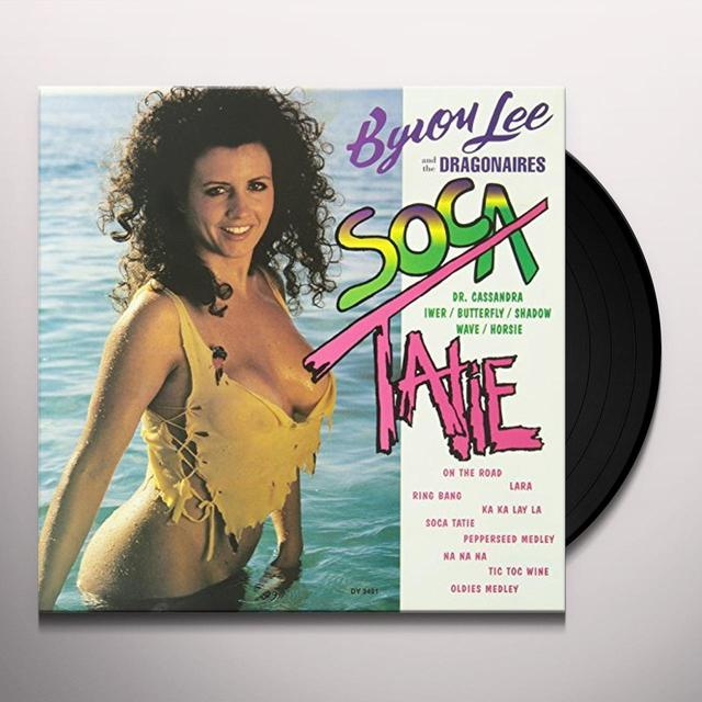 Byron Lee & The Dragonaires SOCA TATIE Vinyl Record