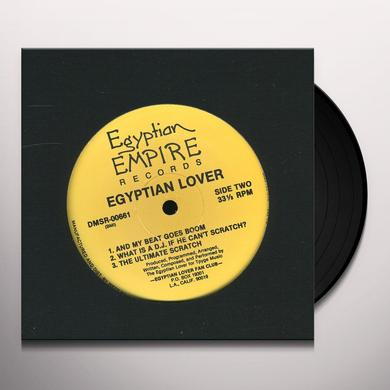 Egyptian Lover EGYPT EGYPT / WHAT IS A DJ / ULTIMATE SCRATCH Vinyl Record