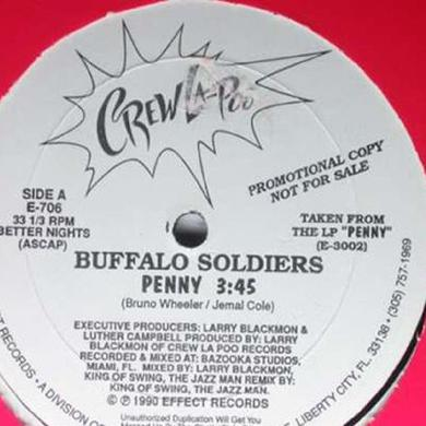 Buffalo Soldiers PENNY Vinyl Record