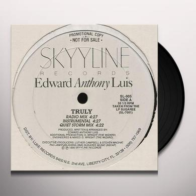Edward Anthony Luis TRULY Vinyl Record