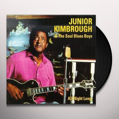 Junior Kimbrough ALL NIGHT LONG Vinyl Record