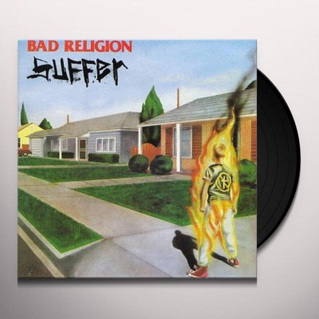 Bad Religion SUFFER Vinyl Record