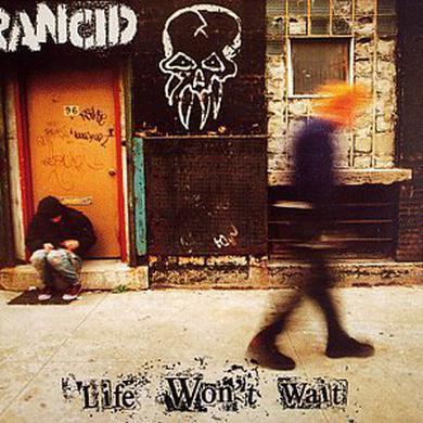 Rancid LIFE WON'T WAIT (DBL LP) Vinyl Record