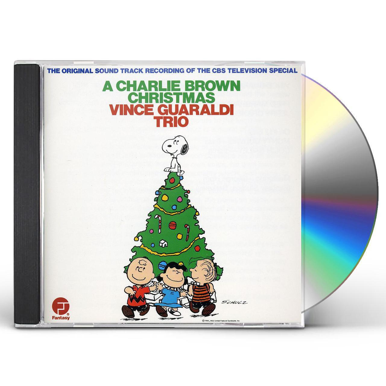 Vince Guaraldi CHARLIE BROWN CHRISTMAS CD