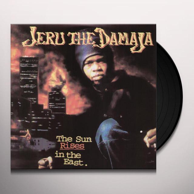 Jeru The Damaja SUN RISES IN THE EAST Vinyl Record