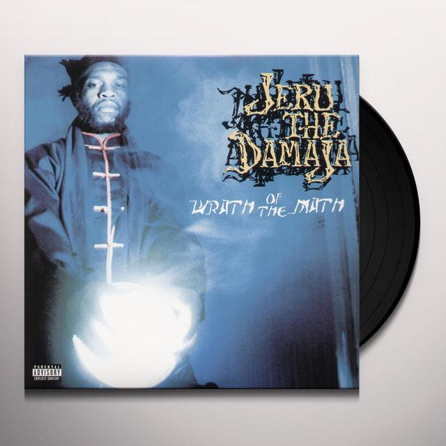 Jeru The Damaja WRATH OF THE MATH Vinyl Record