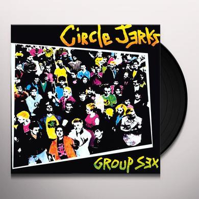 Circle Jerks GROUP SEX Vinyl Record