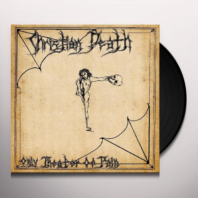 Christian Death ONLY THEATRE OF PAIN Vinyl Record - Reissue