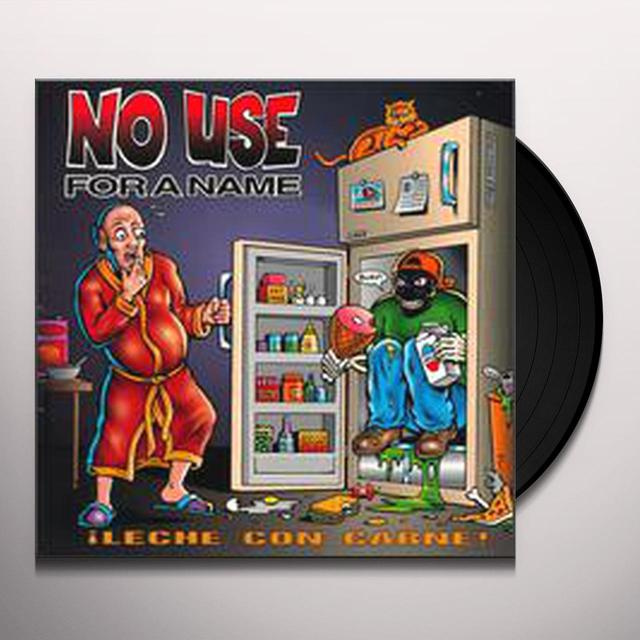 No Use For A Name LECHE CON CARNE Vinyl Record