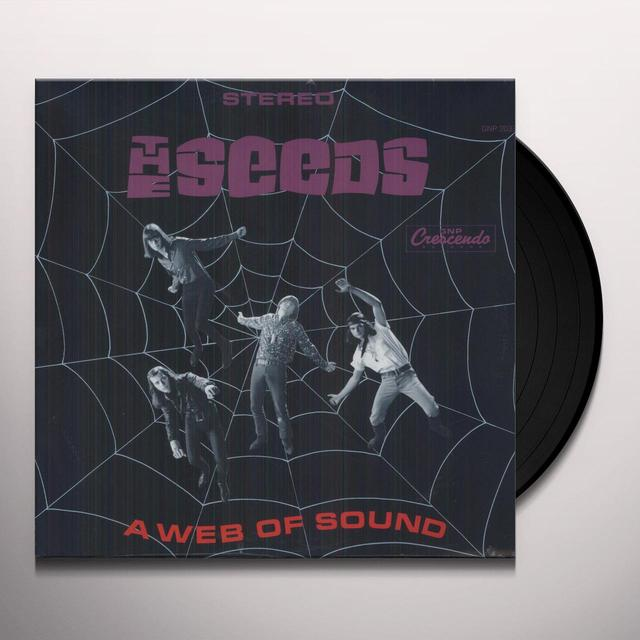 Seeds WEB OF SOUND Vinyl Record