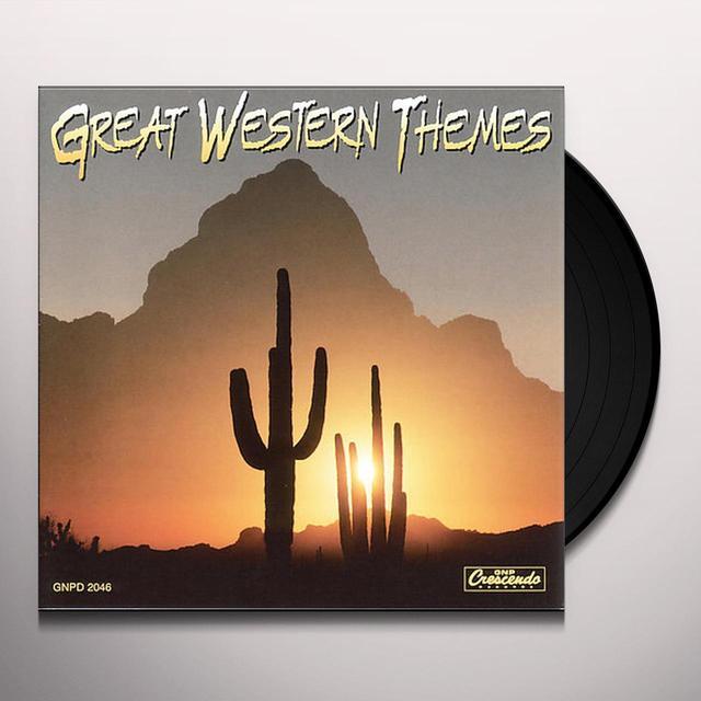 Billy Strange GREAT WESTERN THEME Vinyl Record
