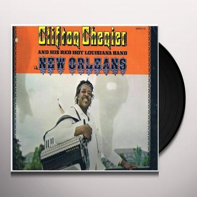 Clifton Chenier / Red Hot Louisiana Band NEW ORLEANS Vinyl Record