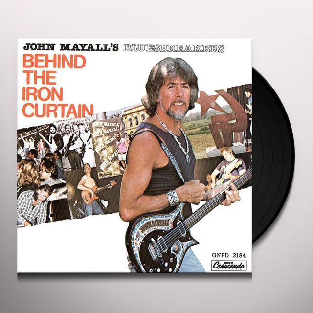 John Mayall & The Bluesbreakers BEHIND THE IRON CURTAIN Vinyl Record