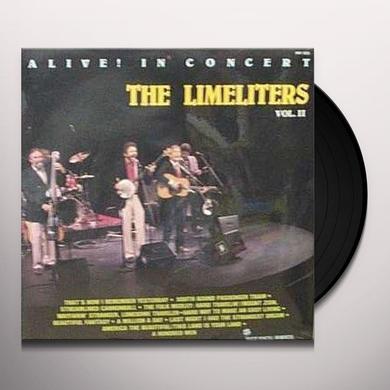 Limeliters IN CONCERT 2 Vinyl Record