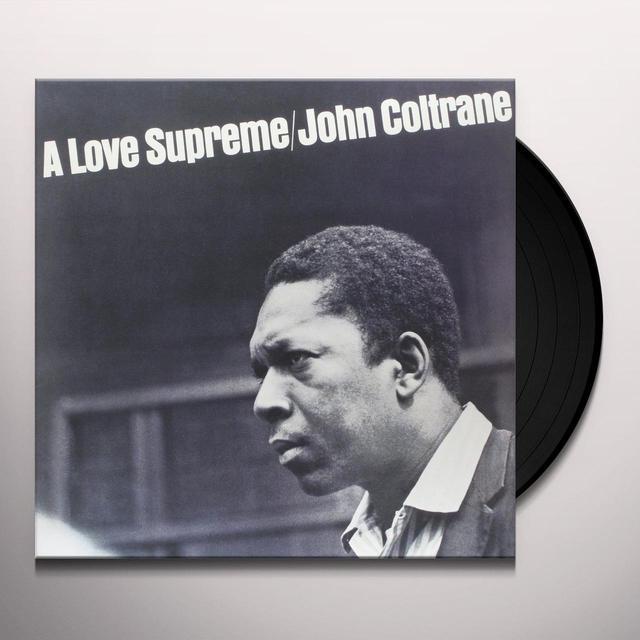 John Coltrane LOVE SUPREME Vinyl Record - Remastered