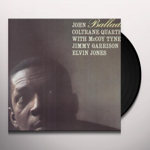 John Coltrane BALLADS Vinyl Record - Remastered