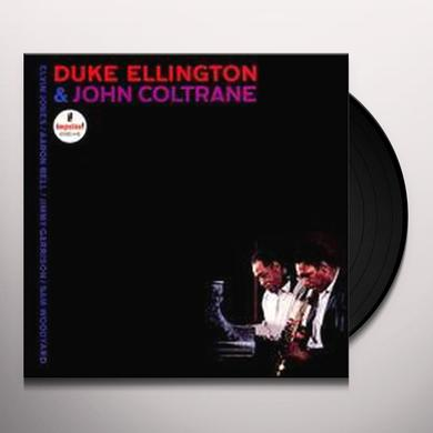 Duke Ellington / John Coltrane DUKE ELLINGTON & JOHN COLTRANE Vinyl Record - Reissue