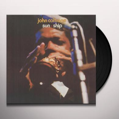 John Coltrane SUN SHIP Vinyl Record - Reissue