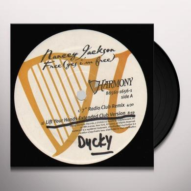 Nancey Jackson FREE (YES I'M FREE) (X6) Vinyl Record