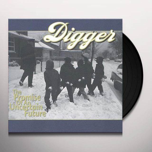 Digger PROMISE OF AN UNCERTAIN FUTURE Vinyl Record