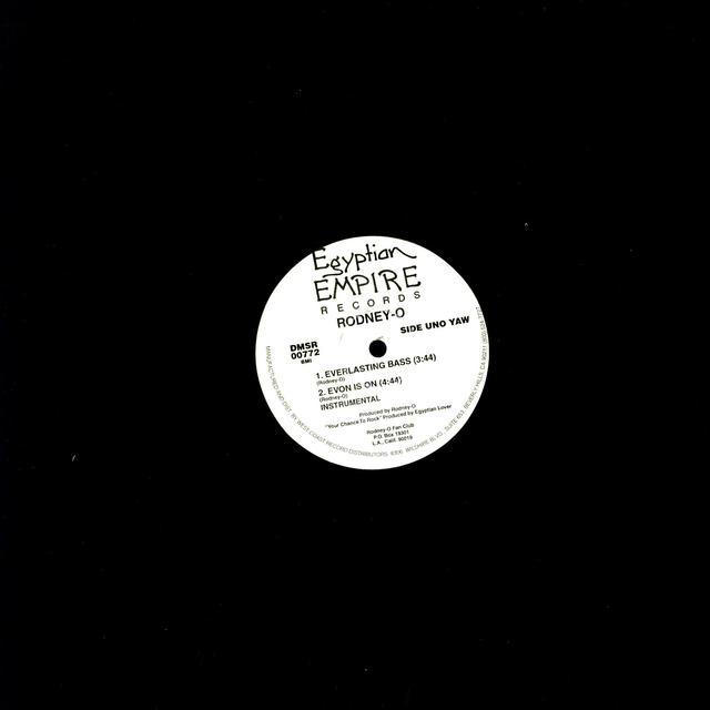 Rodney O & Joe Cooley EVERLASTING BASS Vinyl Record