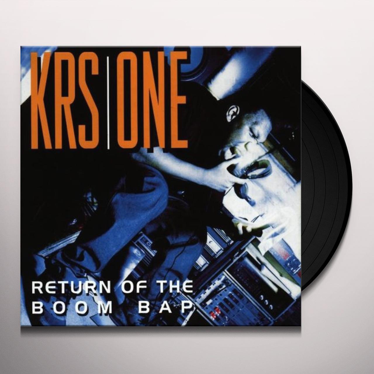 Krs one return of the boom bap vinyl record malvernweather Gallery