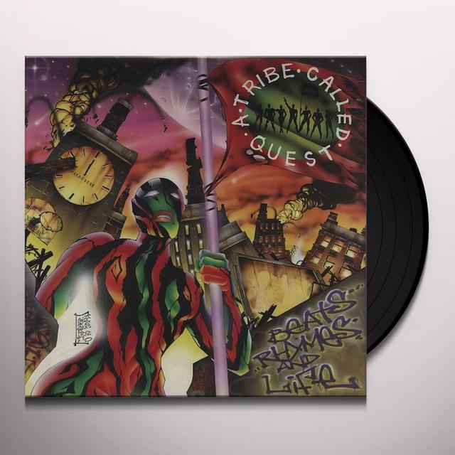A Tribe Called Quest BEATS RHYMES & LIFE Vinyl Record