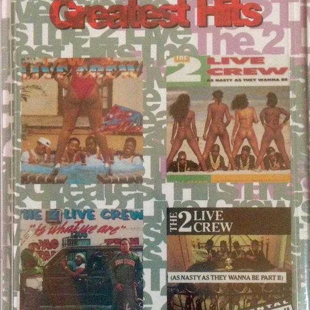 2 Live Crew GREATEST HITS Vinyl Record - Clean