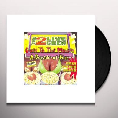 2 Live Crew GOES TO THE MOVIES: DECADE OF HITS Vinyl Record - Clean