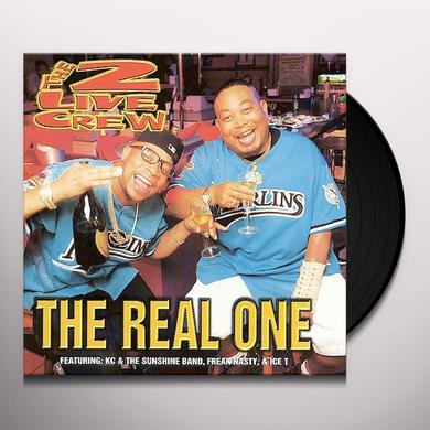 2 Live Crew REAL ONE Vinyl Record - Clean