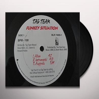 Tag Team FUNKEY SITUATION Vinyl Record