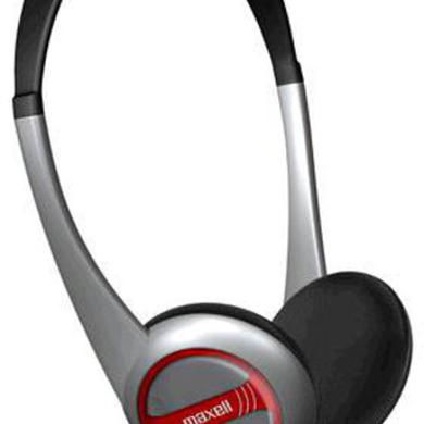 MAXELL HP-200F PORTABLE LIGHTWEIGHT HEADPHONES
