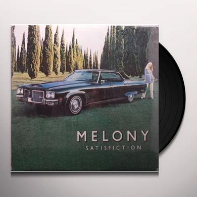 Melony SATISFACTION (BONUS TRACK) Vinyl Record - Limited Edition