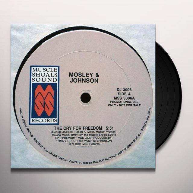 Mosley & Johnson CRY FOR FREEDOM Vinyl Record