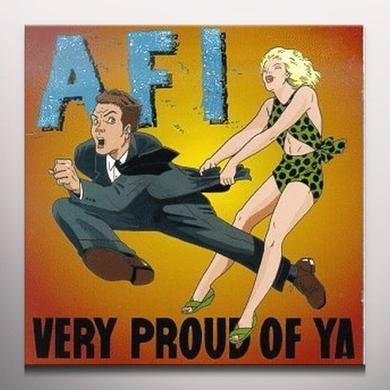AFI VERY PROUD OF YA Vinyl Record - Colored Vinyl, Limited Edition