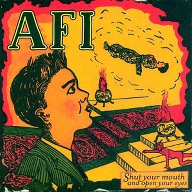 AFI SHUT YOUR MOUTH & OPEN YOUR EYES Vinyl Record