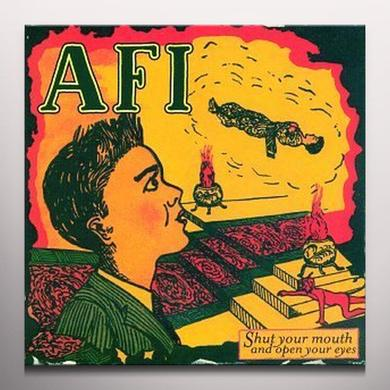 AFI SHUT YOUR MOUTH & OPEN YOUR EYES Vinyl Record - Colored Vinyl, Limited Edition