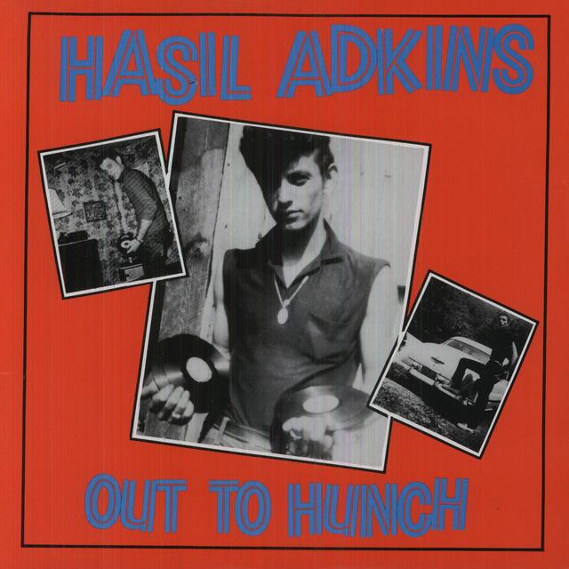 Hasil Adkins OUT TO HUNCH Vinyl Record