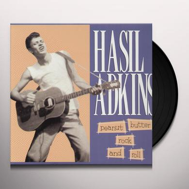 Hasil Adkins PEANUT BUTTER ROCK & ROLL Vinyl Record