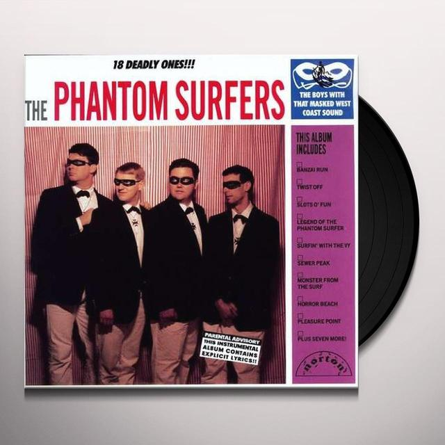 Phantom Surfers 18 DEADLY ONES Vinyl Record
