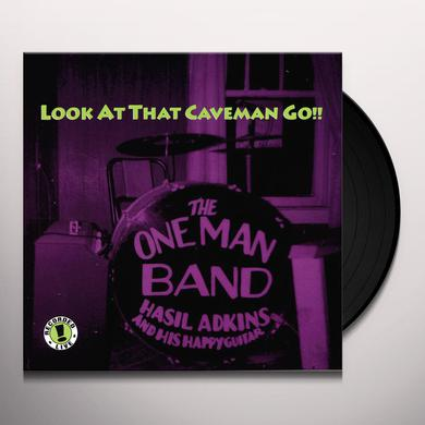 Hasil Adkins LOOK AT THAT CAVEMAN GO Vinyl Record