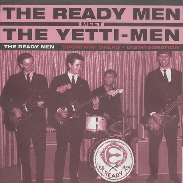 Ready Men / Yetti-Men SPLIT Vinyl Record
