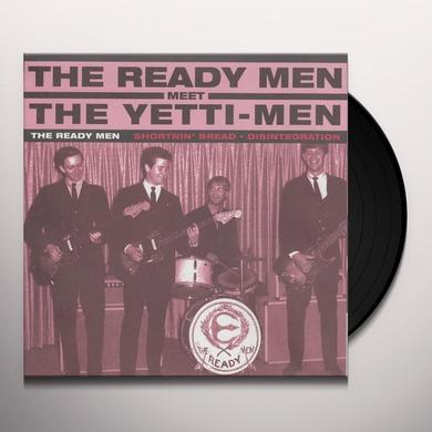 Ready Men / Yetti-Men SPLIT Vinyl Record