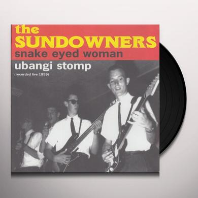 Sundowners SNAKE EYED WOMAN Vinyl Record