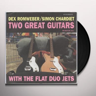 Romweber / Chardiet TWO GREAT GUITARS Vinyl Record