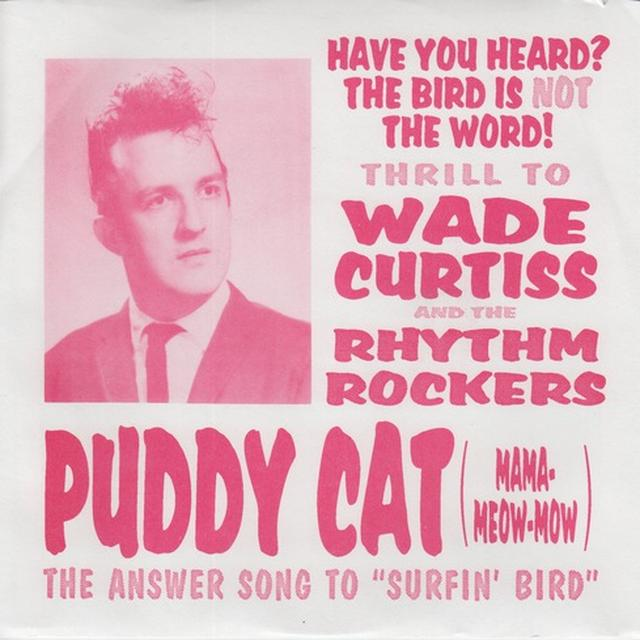 Wade Curtiss PUDDY CAT Vinyl Record