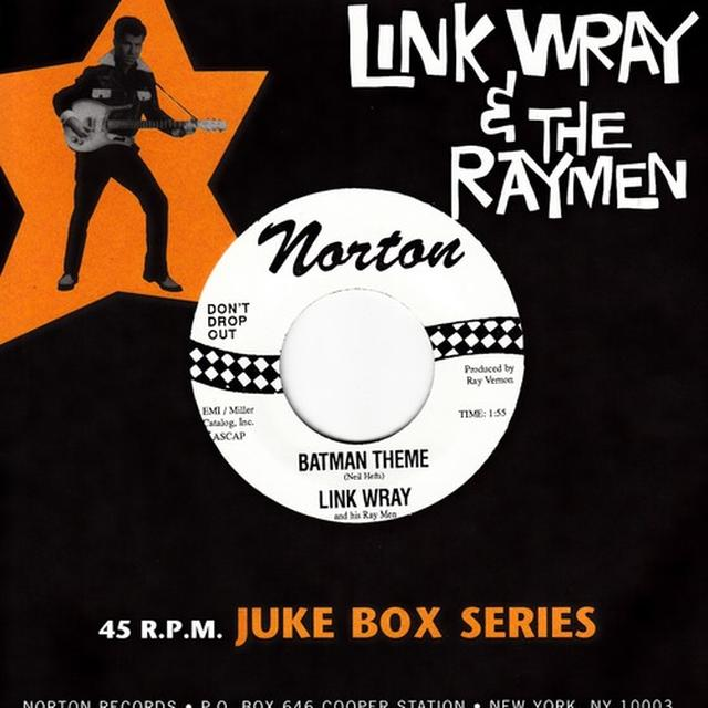 Link Wray BATMAN THEME Vinyl Record