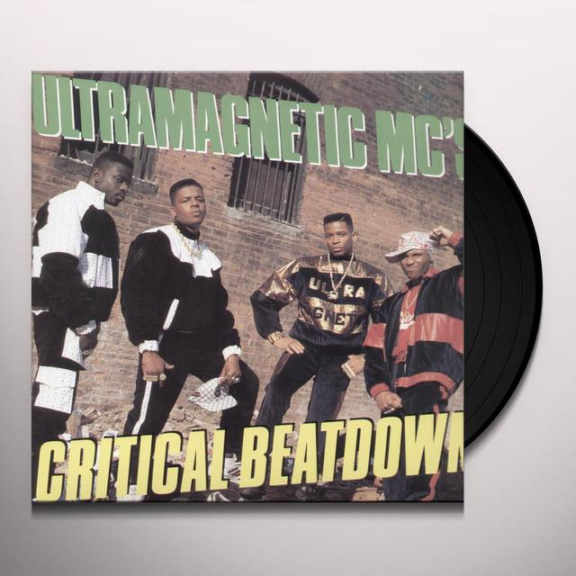 UltraMagnetic MC's CRITICAL BEATDOWN Vinyl Record