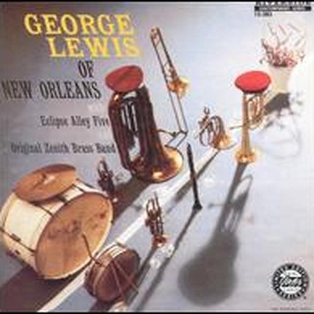 George / Eclipse Alley Five / Zenith Brass Lewis OF NEW ORLEANS Vinyl Record