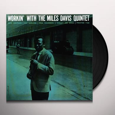 Miles Davis WORKIN Vinyl Record